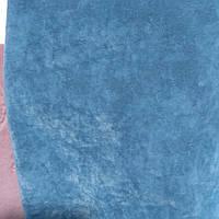 Мебельная ткань Флок антикоготь Ягуар ширина 150 см сублимация ягуар-голубой, фото 1