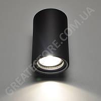 Настенный гипсовый светильник, бра Gypsum Line - Dublin R1808 BK (черный, накладной) под лампу MR16, G5.3