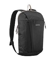 bd80e3d3ca01 Рюкзак компактный черный на 10 литров (велосипедный, легкий, детский)  QUECHUA