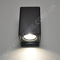 Настенный гипсовый светильник, бра Gypsum Line - Dublin S1809 BK (черный, накладной) под лампу MR16, G5.3