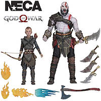 Фигурка God of War Ultimate Kratos Atreus Neca