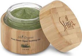 Гель успокаивающий для сухой, чувствительной, куперозной кожи Shir-Organic Pure Green Algae Soot 50 мл.