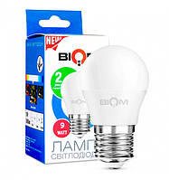 LED Лампа Biom BT-584 G45 9W E27 4500K
