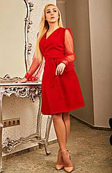 Платье на запах Летисия