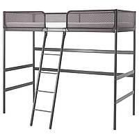 Каркас кровати-чердака IKEA TUFFING 90x200 см темно-серый 902.994.49
