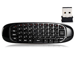 Пульт - мишка, клавіатура С120 black