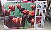 Фотокартина тюльпани розмір (ш-в-г) - (30 - 30 - 60)- 52 - 1.5 см.