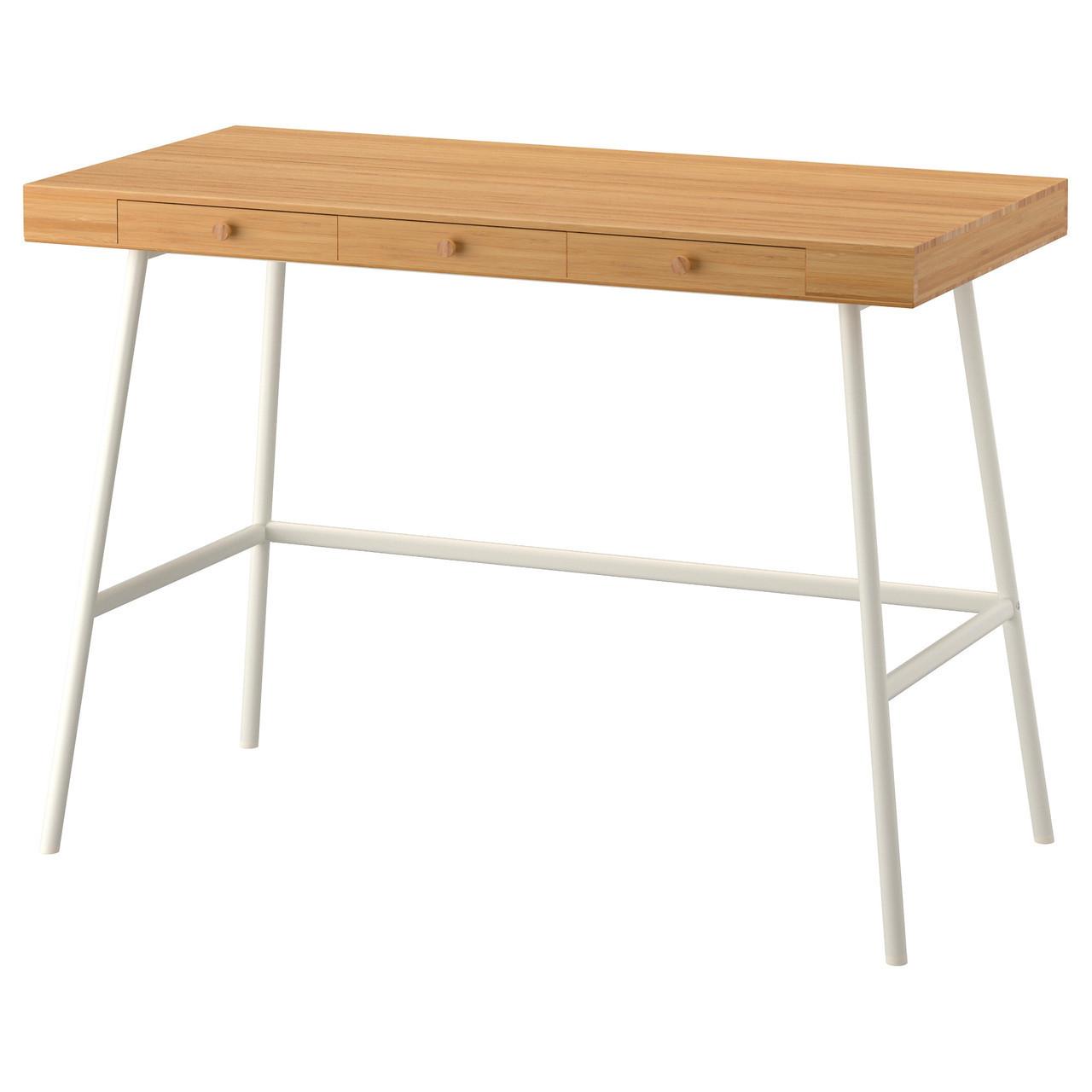 Письменный стол IKEA LILLÅSEN бамбук 902.782.77