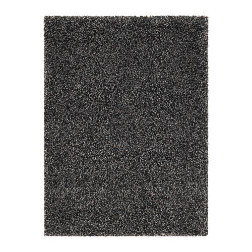 Ковер IKEA VINDUM 170x230 см длинный ворс темно-серый 403.449.82