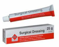Альвеолярная обезболивающая и антисептическая повязка Surgical Dressing (Сурджикал Дрессинг) 25г