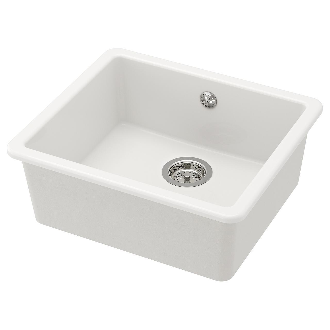 Раковина IKEA HAVSEN 53x47 см белая 392.537.13