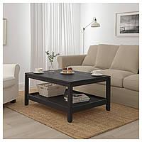 Журнальный столик IKEA HAVSTA 100x75 см темно-коричневый 204.041.99