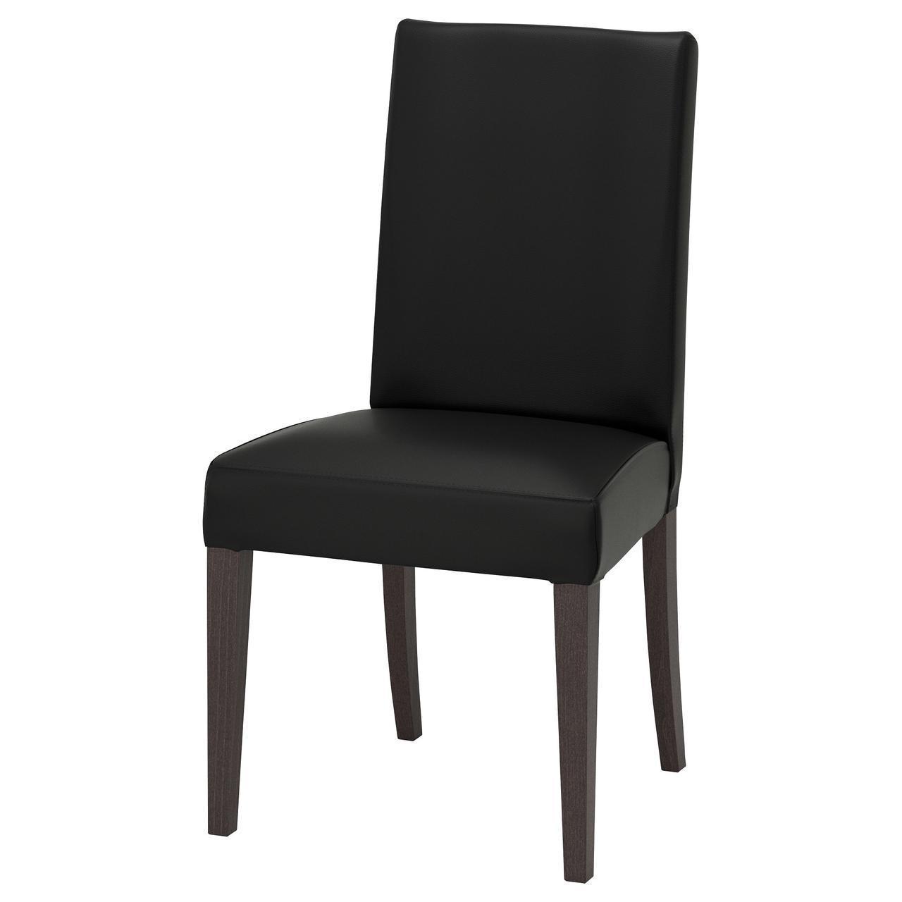 Кресло кухонное IKEA HENRIKSDAL Glose темно-коричневое черное 003.809.48