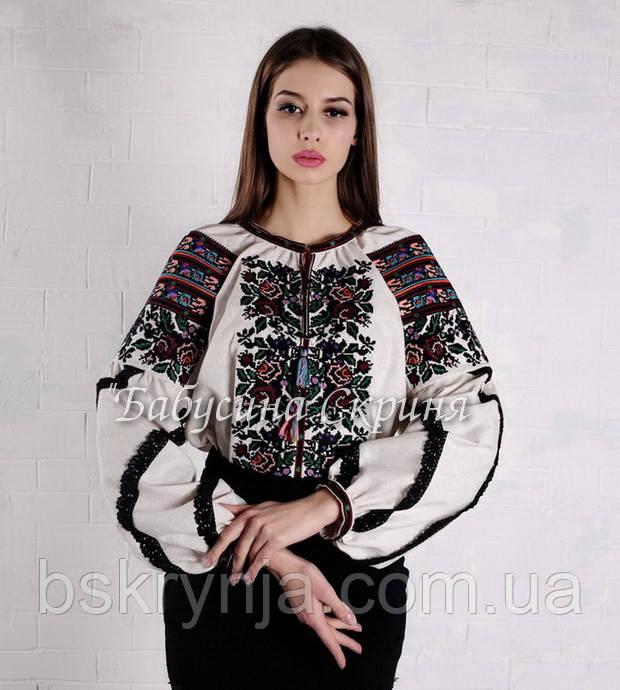Заготовка для вишивки жіночої сорочки БС-140