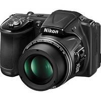 Фотоаппарат Nikon Coolpix L830 Black, 1/2.3', 16.1Mpx, LCD 3', зум оптический 35x, цифровой 4x, Full HD (1920x1080), SD, SDHC, SDXC, аккумулятор 4хAA,