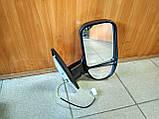 Зеркало боковое правое с повторителем Газель, Соболь (черный глянец), фото 2