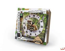 Набор Часы, вышивка гладью и бисером ЕС-01 Данко-тойз