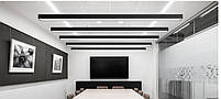 Светильник подвесной линейный LED  HL-12  60cм  12W 6400K, 220В IP44 черный, фото 4