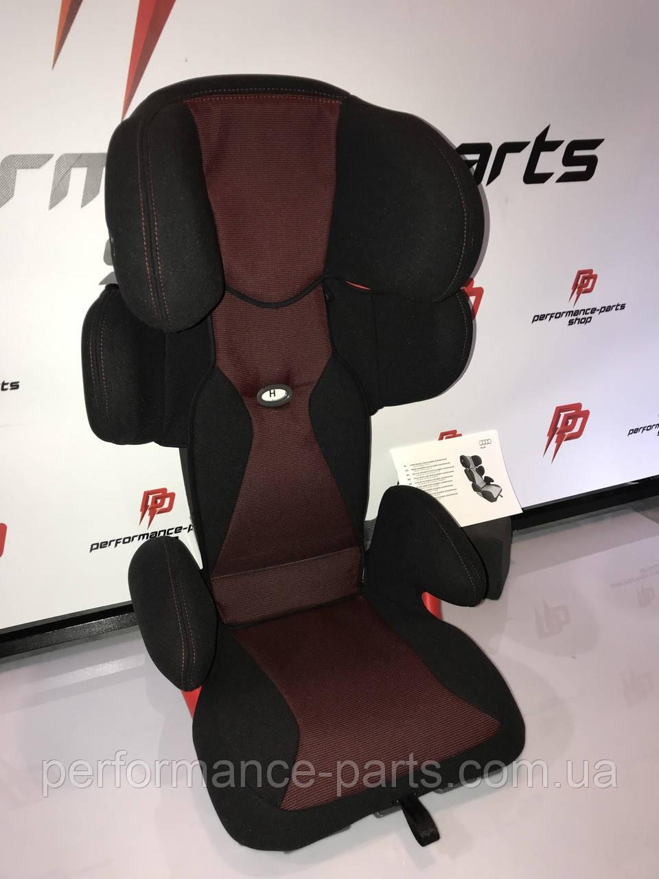 Автомобильное детское кресло Audi Youngster Plus Child Seat, Misano Red/Black, Isofix 4L0019904F