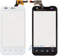 Сенсор (тачскрин) для LG Optimus 2X P990, G2x P999 Original White