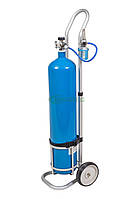 Баллоны кислородные с тележкой для транспортировки 10 л