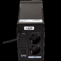 Блок бесперебойного питания ИБП линейно-интерактивный LPM-700VA-P LogicPower