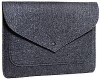 Чехол для ноутбука Gmakin Felt Cover for Macbook 13 new grey GM62-13New