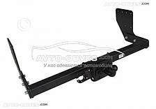 Прицепное устройство - фаркоп для Mercedes-Benz Sprinter l=4350/3665 под подножку 04/2006 -