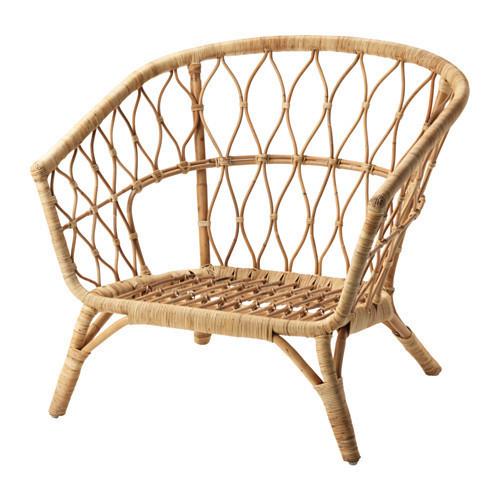 Кресло IKEA STOCKHOLM 2017 ротанг 503.450.66
