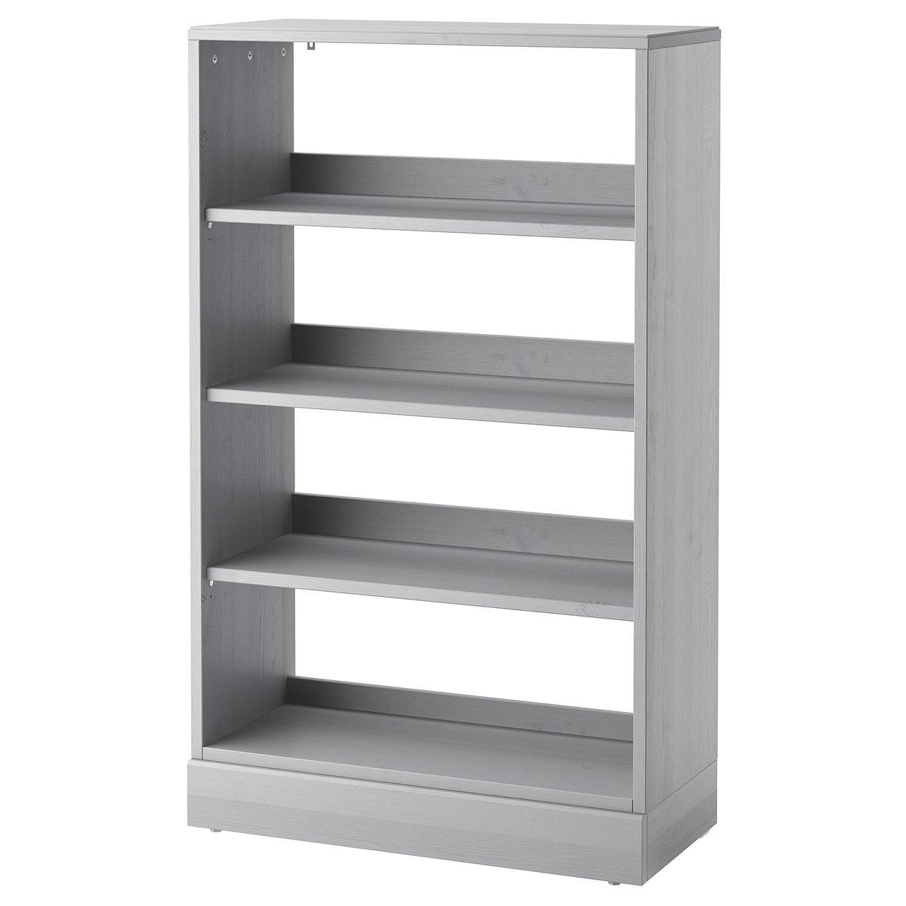 Стелаж IKEA HAVSTA 81x134x37 см сірий 492.750.88