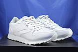 Мужские белые кроссовки в стиле Reebok Classic, фото 3