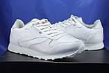 Мужские белые кроссовки в стиле Reebok Classic, фото 2