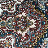 Испанское вино 1171-17, павлопосадский платок шерстяной  с шелковой бахромой, фото 9