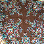 Испанское вино 1171-17, павлопосадский платок шерстяной  с шелковой бахромой, фото 10