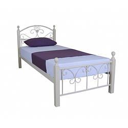 Ліжко металеве 90х200 см Патриція Вуд Melbi