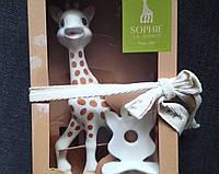Жираф Софи каучуковый грызунок Подарочный набор