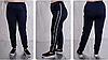Жіночі брюки трикотажні з лампасами, з 48 по 98 розмір