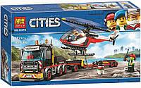 Конструктор Bela Cities Перевозка тяжелых грузов 10872