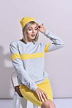 """Трикотажна жіноча шапка """"PASTEL"""" (3 кольори), фото 3"""