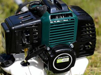 Двухтактный бензиновый двигатель мотокосы Iron Angel BC 40 Profi