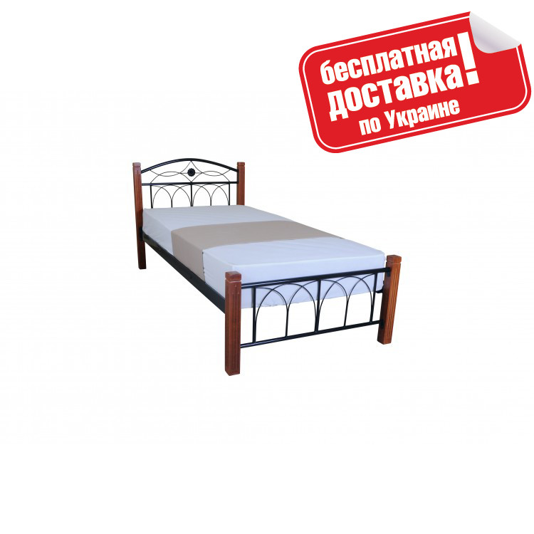 Кровать металлическая 90х200 см Элизабет Melbi