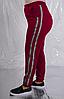 Брюки женские трикотажные с лампасами, с 48 по 98 размер