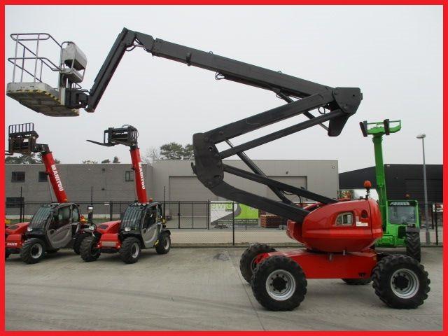 Коленчатый подъемник Manitou 180 ATJ, 18м, дизель, 2008г., 3024м/ч