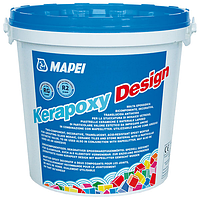 Эпоксидная затирка для швов Mapei Kerapoxy Design 3кг №737
