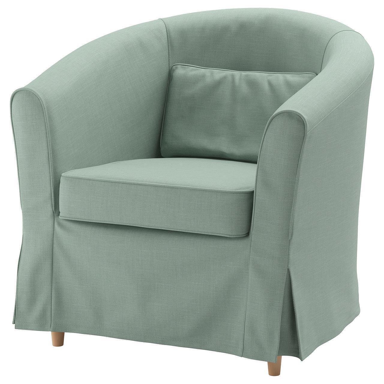 Кресло IKEA TULLSTA Nordvalla светло-зеленое 392.727.16