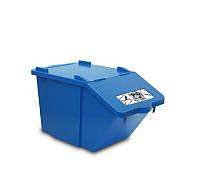 Контейнер для сортировки продукции или отходов Filmop 45 л голубой (3667A)