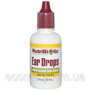 Капли для ушей, NutriBiotic (30 мл)