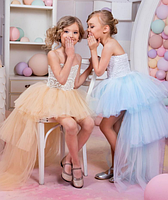 Плаття для дівчинки зі шлейфом., фото 3