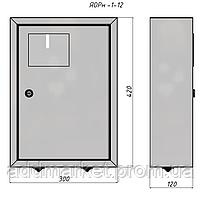 Ящик обліку та розподілення ЯОРн-1/12 IP31 - АДД-Енергія
