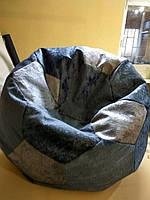 Кресло-мешок МЯЧ Dark Grey D-100
